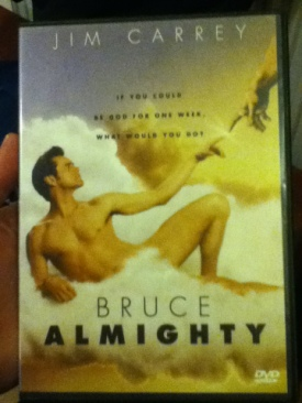 Bruce Almighty - DVD cover