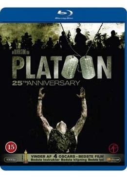 Platoon - Blu-ray cover