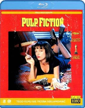 Pulp Fiction - Blu-ray cover