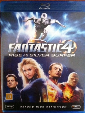 Fantastic Four: Rise of the Silver Surfer - Blu-ray cover