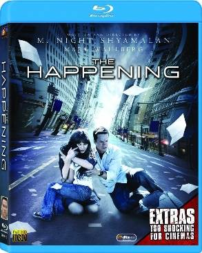 The Happening - Blu-ray cover