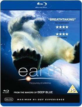 Earth - Blu-ray cover