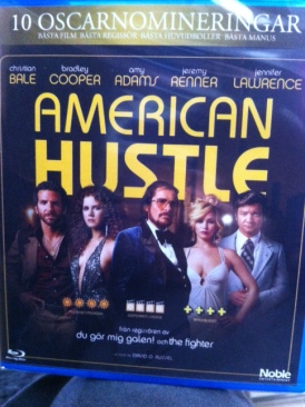 American Hustle - Blu-ray cover