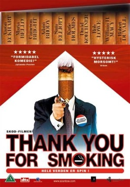Thank You for Smoking - DVD cover
