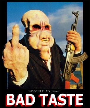Bad Taste - DVD-R cover