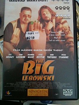 The Big Lebowski - DVD cover
