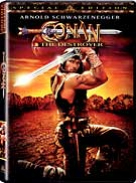 Conan the Destroyer - DVD cover