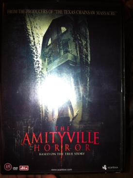 the amityville horror (remake) - DVD cover