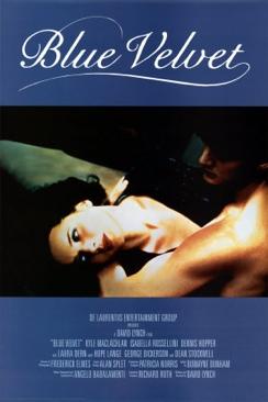Blue Velvet - DVD cover