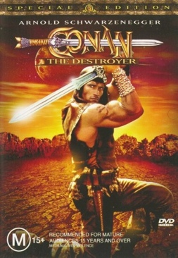 Conan the Destroyer (Promo) - DVD cover