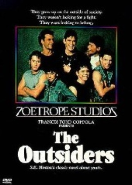 The Outsiders - HD DVD cover
