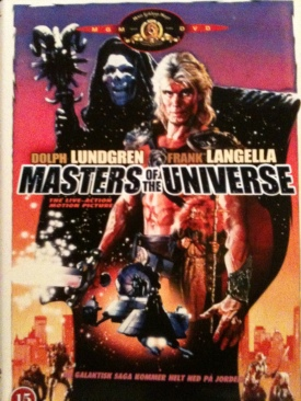 Masters of the Universe - HD DVD cover