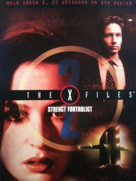 The X-Files - DVD cover