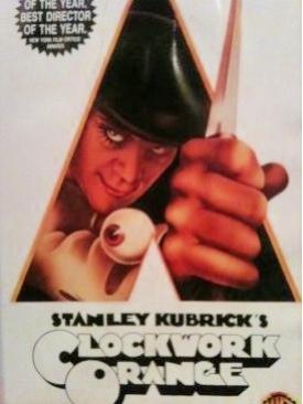 A Clockwork Orange - VHS cover