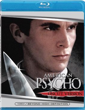 American Psycho - Blu-ray cover