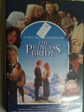 The Princess Bride - VHS cover