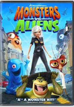 Monsters vs Aliens - Video CD cover