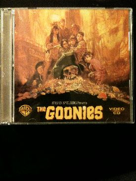 The Goonies - Video CD cover