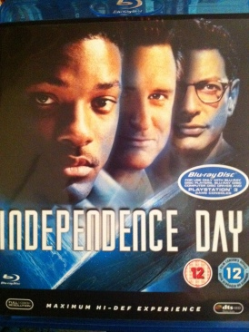 Independence Day - Blu-ray cover
