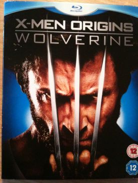 X-Men Origins: Wolverine - Blu-ray cover