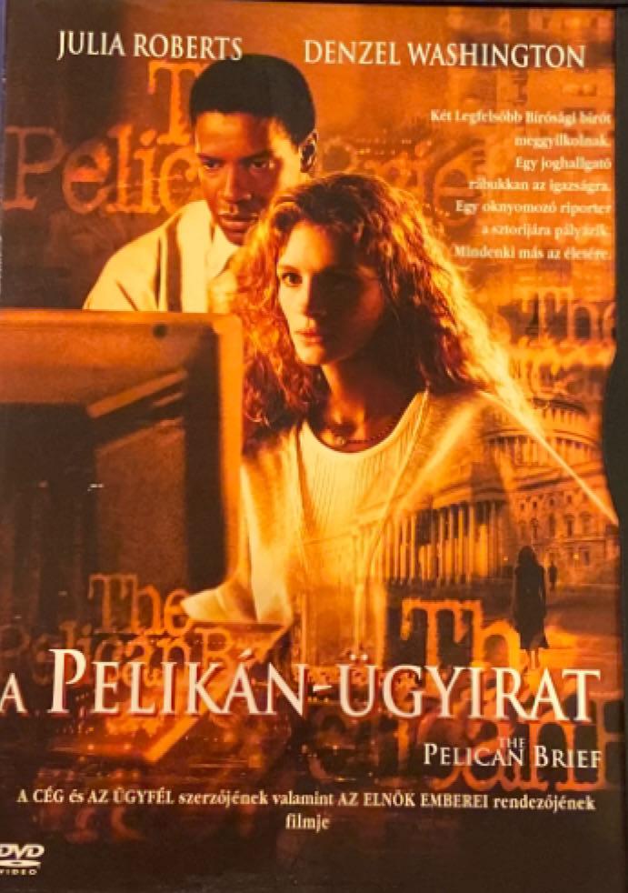 The Pelican Brief -  cover