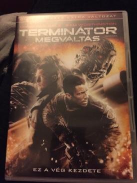 Terminator Salvation - DVD cover