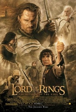 The Lord of the Rings 3: The Return of the King - Video CD cover
