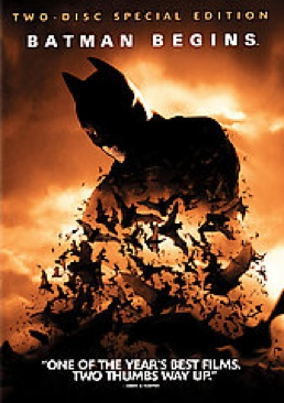 Batman Begins - DVD cover