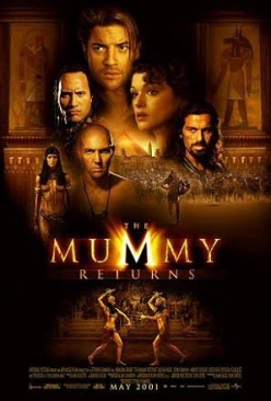 The Mummy Returns - Blu-ray cover