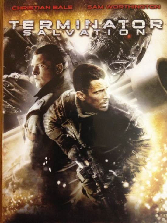 Terminator 4 Salvation -  cover