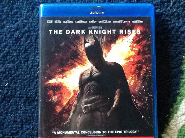 The Dark Knight Rises -  cover