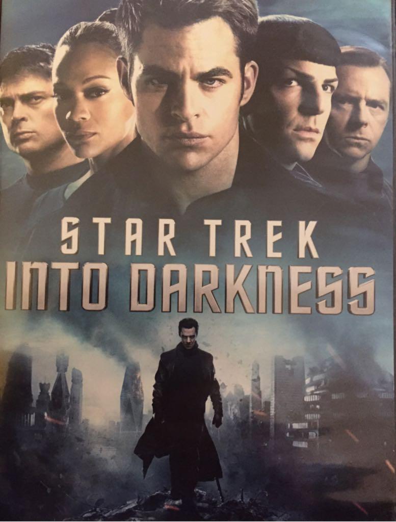 Star Trek Into Darkness - DVD cover