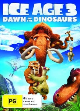 Ice Age 3: Dawn Of The Dinosaurs. Plex - Blu-ray cover