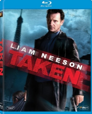 Taken - Blu-ray cover