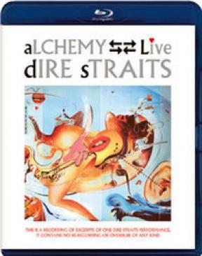 Music: Dire Straits - Live Alchemy - Blu-ray cover