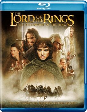 The Lord of the Rings: The Fellowship of the Ring - Blu-ray cover