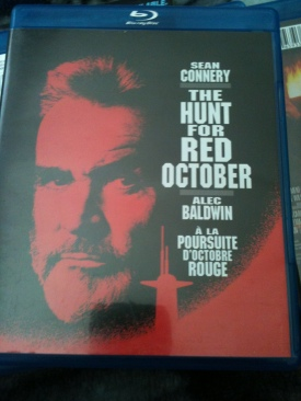 The Hunt for Red October - Blu-ray cover