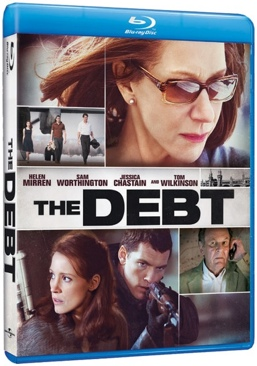 The Debt - Blu-ray cover