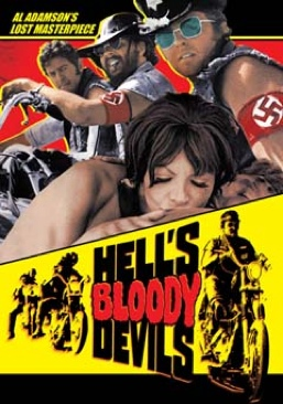 Hell's Bloody Devils - DVD cover