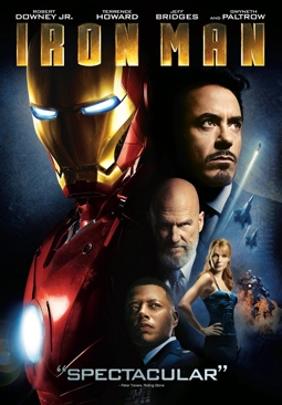 Iron Man - DVD-R cover