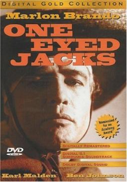 One Eyed Jacks - DVD cover