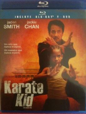 Karate Kid (2010) - Blu-ray cover