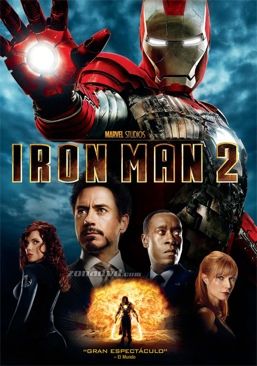 Iron Man 2 - DVD cover