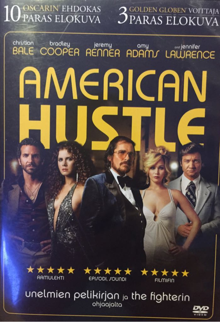 American Hustle -  cover