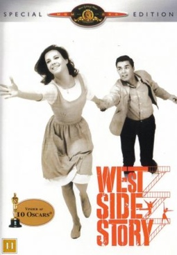 West Side Story - DVD cover