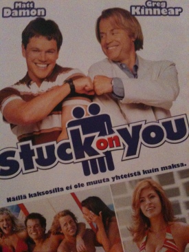 Stuck on You - DVD cover