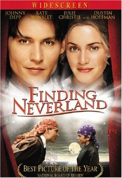 Finding Neverland - DVD cover