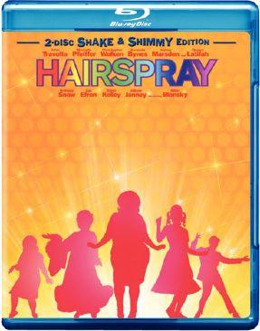Hairspray - Blu-ray cover