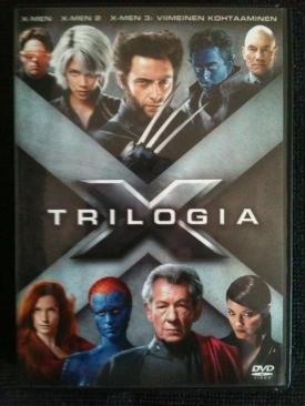 X-Men Trilogy - DVD cover