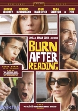 Burn After Reading - DVD cover